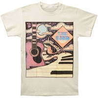 Band Men's  Piano Road T-shirt Ivory