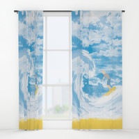 Surfer Window Curtains by Berwies