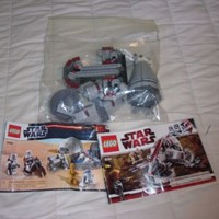 Lego Star Wars 8091, 9490 Loose Two Ships Used Manual