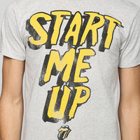 Rolling Stones Start Me Up Tee - Urban Outfitters