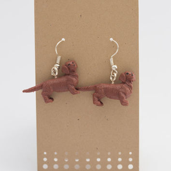 Dachshund Spirit Animal Earrings