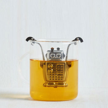 Best Seller Armed With Technology Tea Infuser by Kikkerland from ModCloth