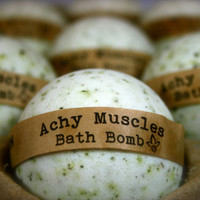 Achy Muscles Bath Bomb - Aromatherapy
