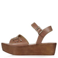 HI-FIVE Wedges - Tan