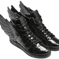 Adidas JS Wings 2.0 by Jeremy Scott / Black / Q23668 size 11