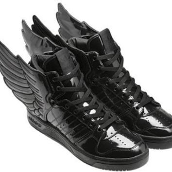 reputable site a5a95 fd228 Adidas JS Wings 2.0 by Jeremy Scott   Black   Q23668 size 11