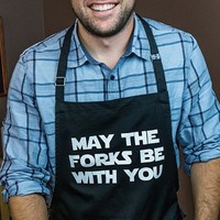 May the Forks Be With You Apron