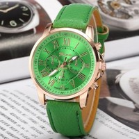 Ladies Men Fashion Quartz Watches Wrist Watch