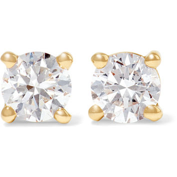 Anita Ko - 18-karat gold diamond earrings