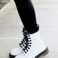White Dr martens from littlebutterfly