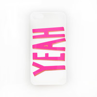 YEAH iPhone 4/4S Case