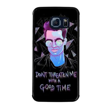 PANIC AT THE DISCO BRENDON URIE Samsung Galaxy S6 Edge Case