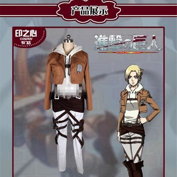 Cool Attack on Titan Japanese Anime  3 Armin Arlart Bertolt Hoover AnnieLeonheart Hot Sale Cosplay Costume AT_90_11