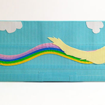 Lady Rainicorn Adventure Time Duct Tape Wallet