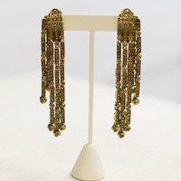 Oscar Dangle Clip On Earring