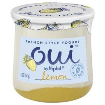 Oui™ Yoplait® Lemon Flavored French Style Yogurt - 5oz