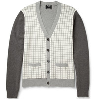 Todd Snyder - Windowpane Check Cotton Cardigan | MR PORTER