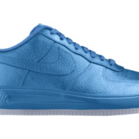 Nike Air Force 1 Low Premium iD Custom Women's Shoes - Blue