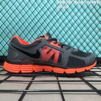 DCCK N211 Nike Dual Fusion ST2 msl 2018 Outdoor Sports Shoes Grey Orange
