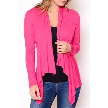 Solid Open Cardigan - Multiple Colors