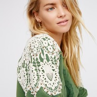 Free People Keep It Real Pullover
