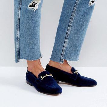 Tommy Hilfiger Velvet Loafer with Star Snaffle at asos.com