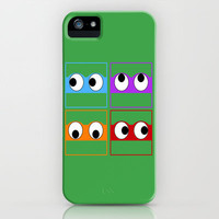 Turtle Tiles iPhone Case by Timothy Davis