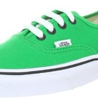 Vans Mens Authentic, Bright Green/Black , Men's 7