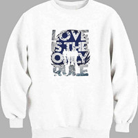 Bon Jovi Love s The Only Rule Sweater for Mens Sweater and Womens Sweater ***