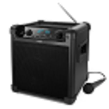 Ion Tailgater iPA77 Bluetooth Portable Speaker System w/3.5mm Input, Mic, AM/FM Radio, USB Port - 50 Hr Battery