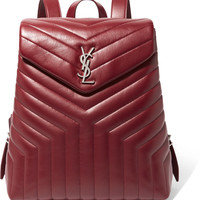 Saint Laurent - Loulou quilted leather backpack