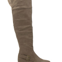 Made For Walking Over-The-Knee Boots