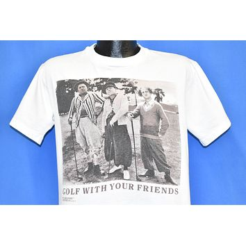 80s The Three Stooges Golf With Friends t-shirt Medium