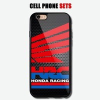 HRC Honda Racing Design Automotive Logo Custom For iPhone Case Cover
