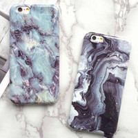 New Marble iPhone 5 5s 5SE 6 6s Plus Case Cover