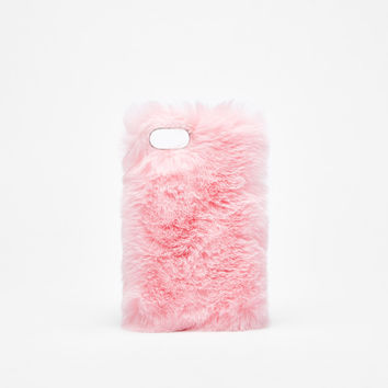 Faux fur iPhone 6/6s/7 case - Tech Accessories - Bershka United States