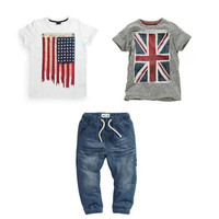 Great Deal - Boys 3 PC Set Pants+2 Shirts