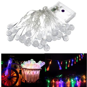 Decoration Lights Water Droplets Christmas Home Box [18778718228]