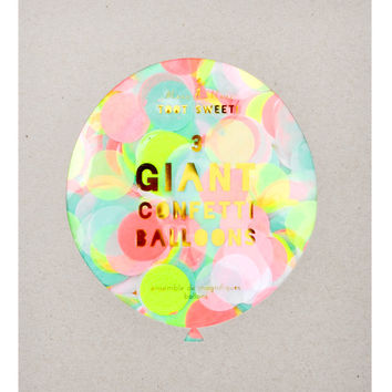 Giant Confetti Balloon Kit