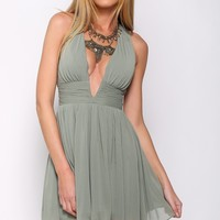 Equality Dress Olive Green