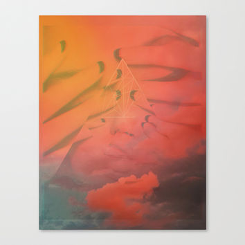 Head in the Clouds Canvas Print by DuckyB (Brandi)