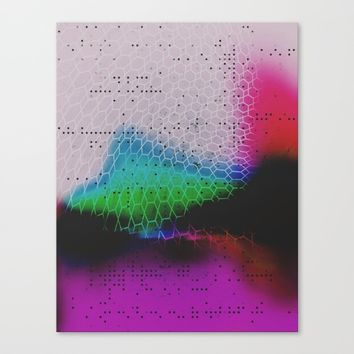 Heavy Glow  Canvas Print by DuckyB