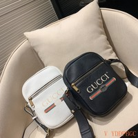 HCXX 19Oct 001 Gucci Print Shoulder Strap Crossbody Pouch Fashion Ophidia Sling Bag 18-23cm