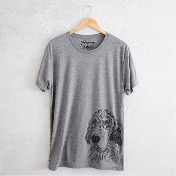 Aviator Hutch the English Setter - Unisex Crewneck