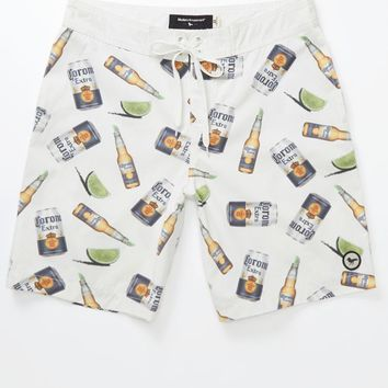 Modern Amusement Corona Boardshorts - Mens Board Shorts - Allover Print