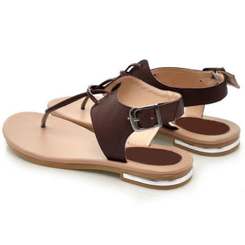 Genuine Leather Bohemia Flat Sandals