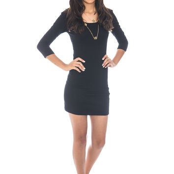The Basics Black Dress