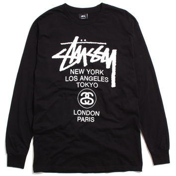 World Tour Longsleeve T-Shirt Black