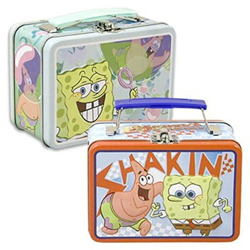Tote Box Spongebob Lunch Tote (Designs may vary) (2 totes)