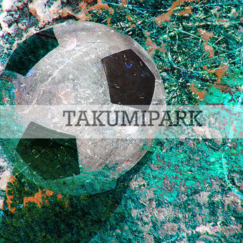 Soccer Decor Art Print, Modern Sports Wall Art Decor, Home Decor, Bedroom Art, Photo Print, Sports Artwork, Soccer Room Decor, Gift Idea